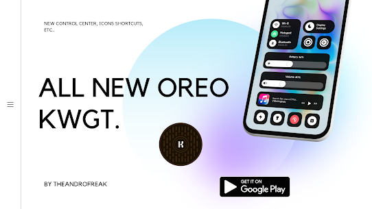 OREO KWGT Apk 2.1 (Paid) for Android 1