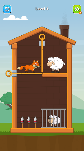Hero Sheep- Pin Pull & Save Sheep  screenshots 2