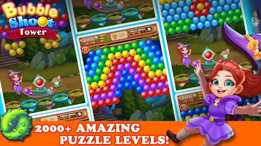 Bubble Tower Legend - Bubble Shooter Magic Pop Apkfinish screenshots 19