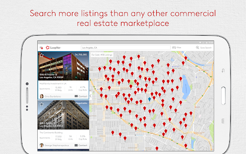 LoopNet - Commercial Real Estate Search Screenshot