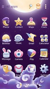 Moonie GO Launcher Theme