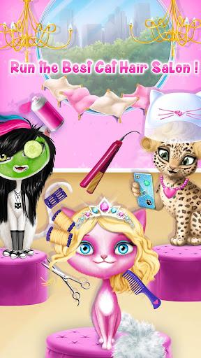 Cat Hair Salon Birthday Party - Virtual Kitty Care 8.0.80006 screenshots 3