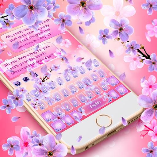 2019 Beautiful SMS Keyboard Themes 10001003 Screenshots 6
