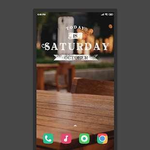 Visually KWGT Widgets Screenshot