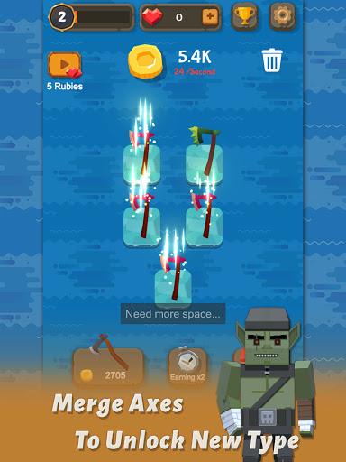 Merge Axe - Idle Blacksmith Master modavailable screenshots 7