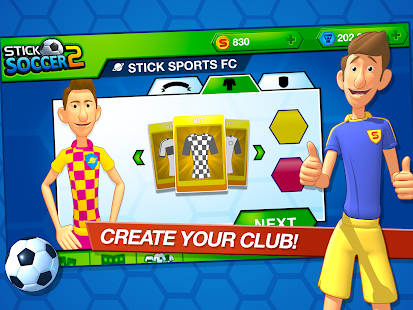 Stick Soccer 2 Screenshot