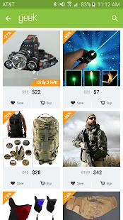 Geek - Smarter Shopping 4.47.5 Screenshots 3