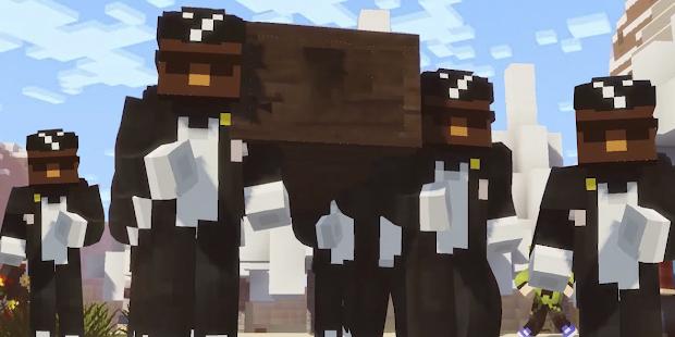 Coffin Dance Mod for Minecraft PE