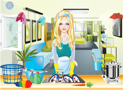 gina - house cleaning games hack