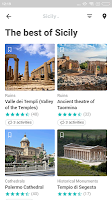 Sicilia Travel Guide in English with map