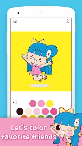 Banzi's Secret Diary Coloring Book screenshots 3