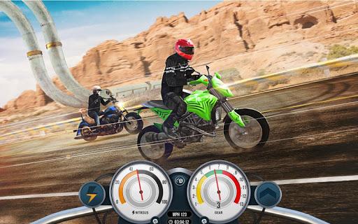 Bike Rider Mobile: Racing Duels & Highway Traffic apktram screenshots 8