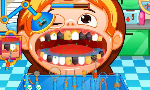 Fun Mouth Doctor, Dentist Game apktram screenshots 11