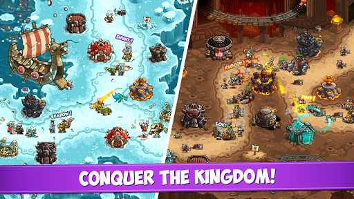Kingdom Rush Vengeance  - Tower Defense Game 1.9.10 screenshots 3