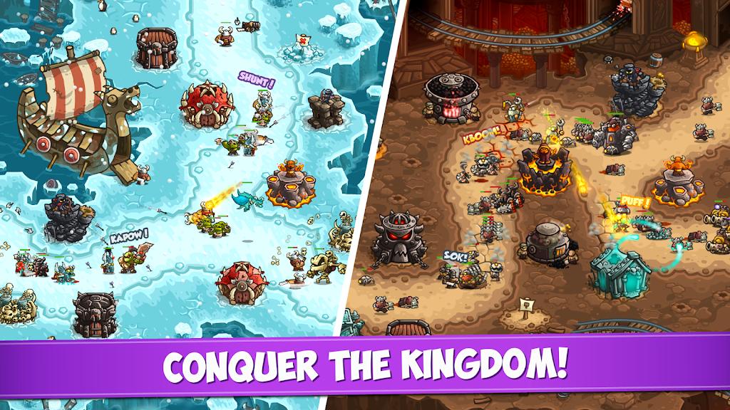 Kingdom Rush Vengeance - Tower Defense Game  poster 2