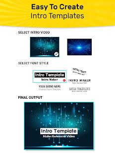 Intro Maker, Promo Video Maker, Ad Creator