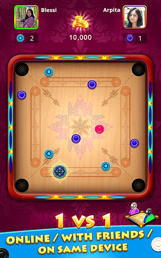 World Of Carrom : 3D Board Game android2mod screenshots 1