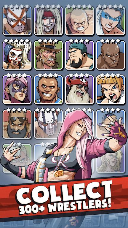 The Muscle Hustle: Slingshot Wrestling Game  poster 0