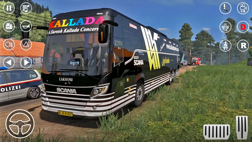 Public Coach Bus Transport Parking Mania 2020 screenshots 11