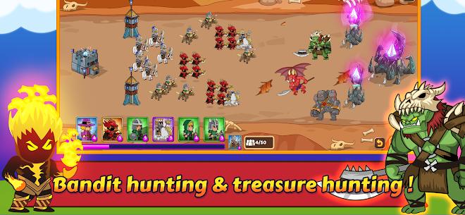 Dropwars MOD APK: Defense Kingdom Wars (Unlimited Gold) 3