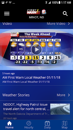 KMOT-TV First Warn Weather 4.10.1700 Screenshots 2