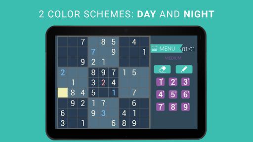 Sudoku classic   Free puzzle game   Easy sudoku 3.8.3 screenshots 9