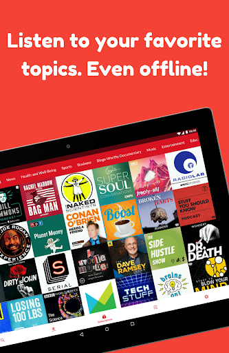 Podcast App: Free & Offline Podcasts by Player FM 4.13.0.60 Screenshots 2