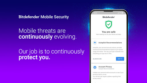 Bitdefender Mobile Security & Antivirus screenshots 1