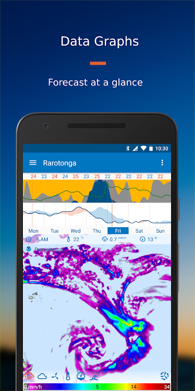Flowx: Weather Map Forecast  poster 1