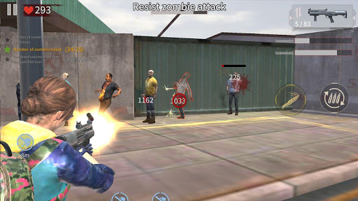 Zombie City : Dead Zombie Survival Shooting Games  screenshots 11