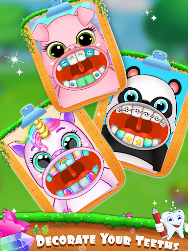 Unicorn Pet Dentist Dental Care Teeth Games 0.7 Screenshots 3