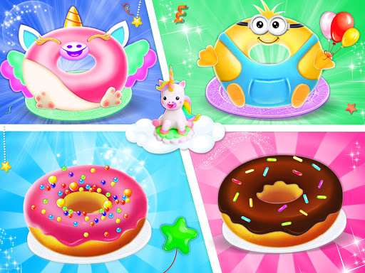 Unicorn Donut Maker: Dessert Cooking Mania  Screenshots 11