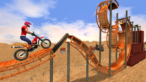 New Bike Racing Stunt 3D : Top Motorcycle Games 0.1 screenshots 3