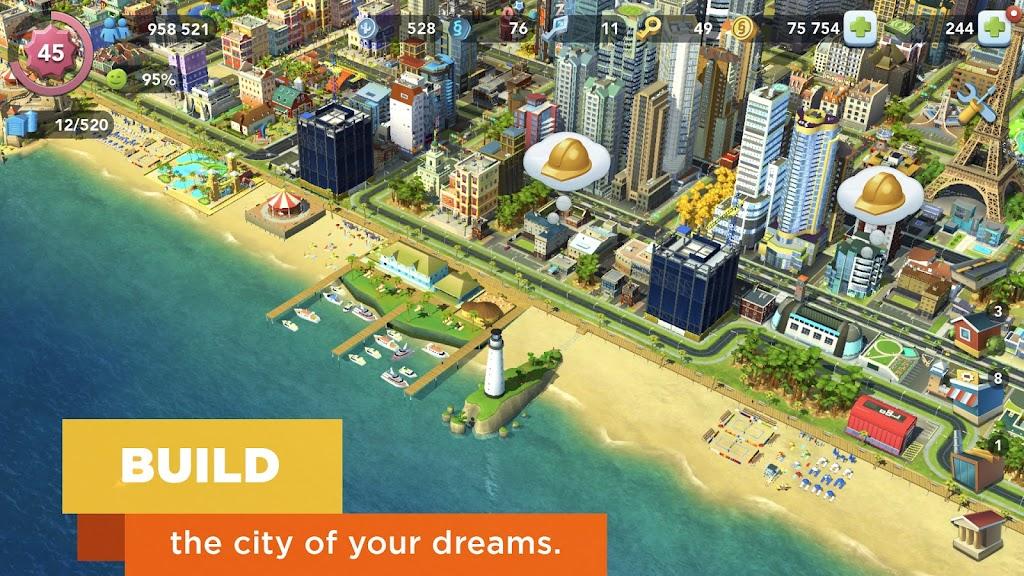 SimCity BuildIt  poster 2