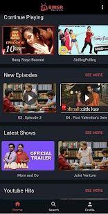 Bingr : Binge Web Series Screenshot