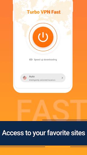 Turbo VPN Fast DL – Free VPN Proxy & Fast VPN  screenshots 1