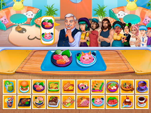 Cooking Fantasy: Be a Chef in a Restaurant Game apkmr screenshots 11