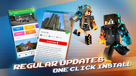 MCPE Master Apk for Minecraft(Pocket Edition)-Mod Launcher 6