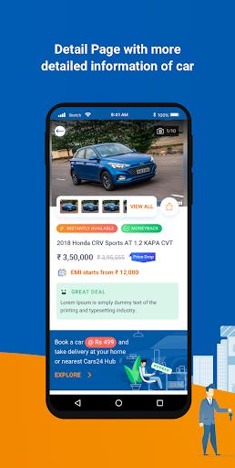 CARS24u00ae u2013 Sell Used Car at Best Price, Buy Old Car 5.3 Screenshots 3