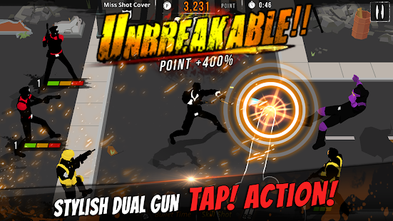 GunStrider: Tap Strike Screenshot