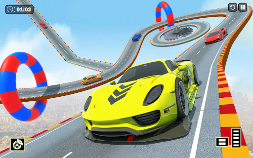 Crazy Ramp Car Stunts :Mega Ramp Stunt Games apkmr screenshots 4