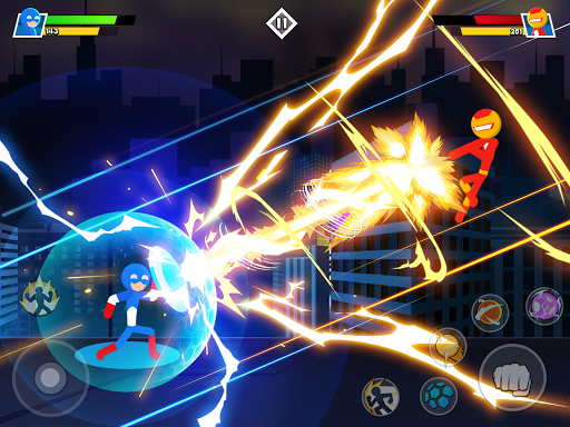 Stickman Combat - Superhero Fighter apktram screenshots 11