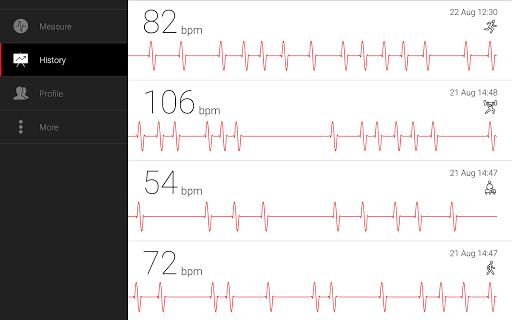 Cardiograph - Heart Rate Meter 4.1.3 Screenshots 12