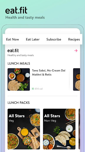 cure.fit fitness, meditation, healthy food, doctor screenshot 3