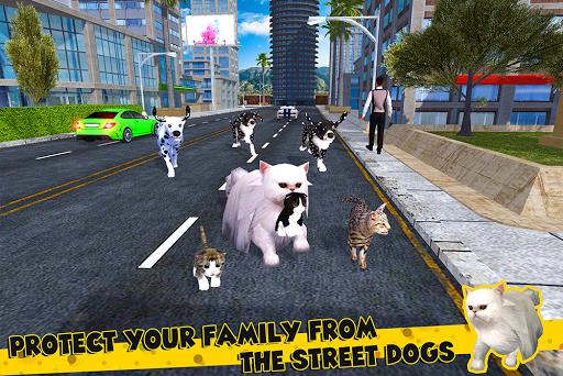 Cat Family Simulator: Stray Cute Kitty Game 10.1 screenshots 14