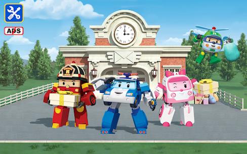 Robocar Poli Mailman: Cool Games for Boys & Girls Apk Mod + OBB/Data for Android. 7