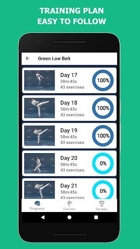 Mastering Taekwondo - Get Black Belt at Home 1.1.8 Screenshots 4