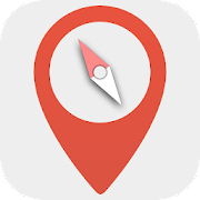 Digital compass - Map compass & Windy map