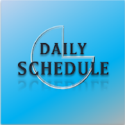 Daily Schedule - easy timetable, simple planner