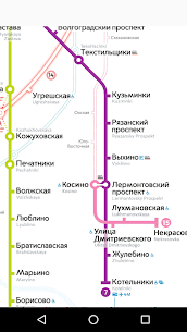 Moscow metro map 1.2.6 Mod APK Updated 2